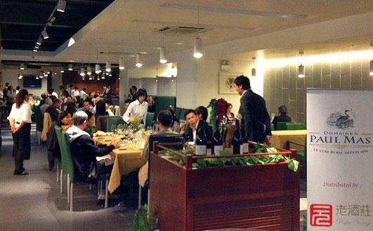 Wine dinner in Macau