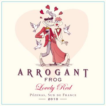 Arrogant frog cuvée spéciale saint valentin lovely red