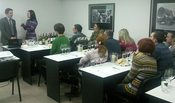 tasting rooms des magasins Wine Time de Sav Service en ukraine