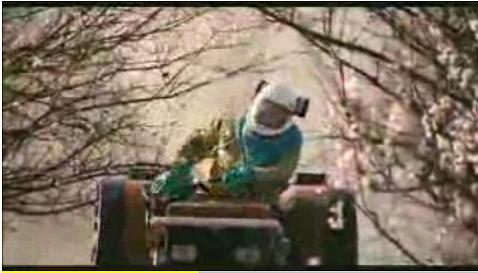 tracteur pulvérisation pesticides