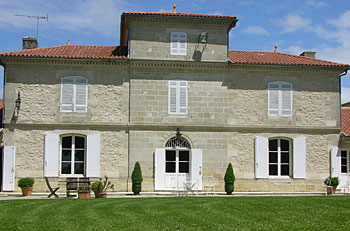 chateau du payre facade bordeaux