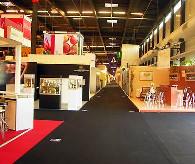 salon vinexpo ouverture alle vide