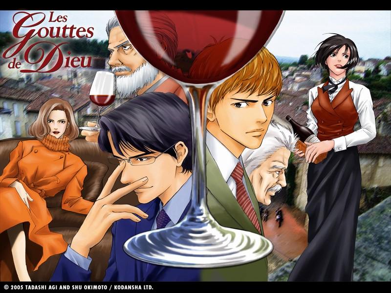 Les gouttes de dieu - Manga sur l'univers du vin