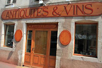 antiquités et vins