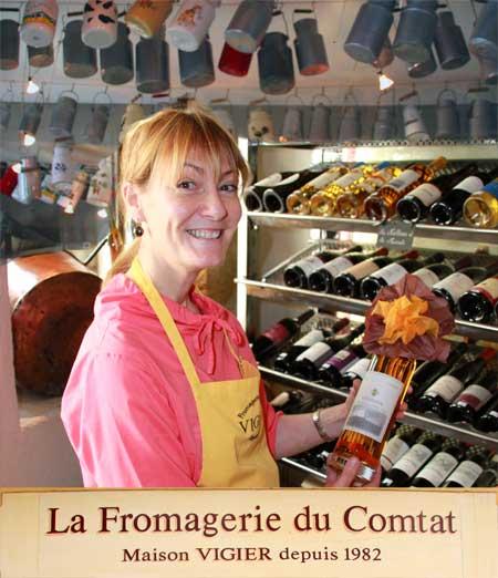 Madame Vigier, fromagerie du comtat