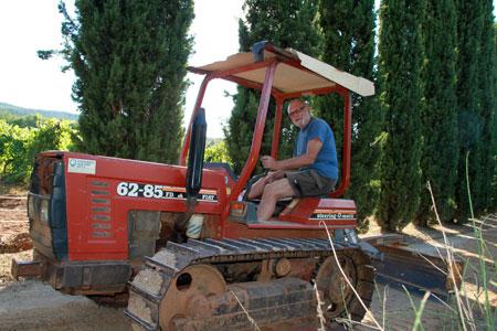 tracteur en italie