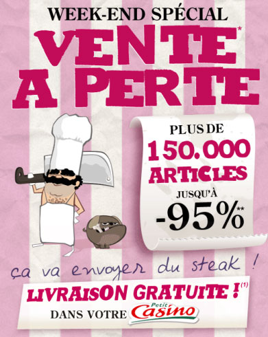 promo cdiscount vente  perte
