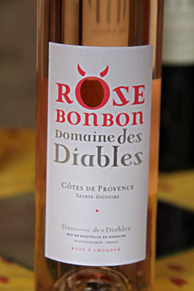 Rose bonbon diables provence