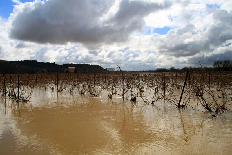 Inondation Pézenas Hérault