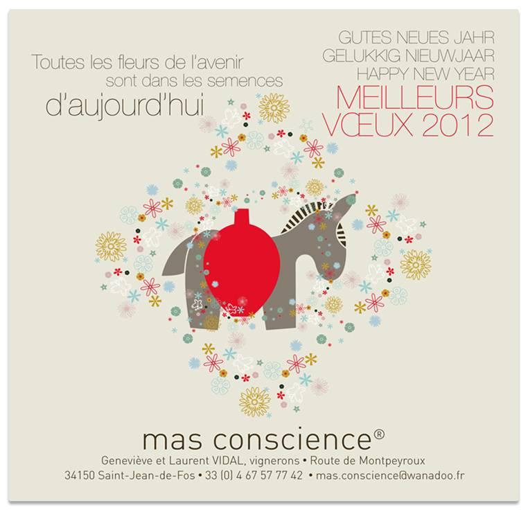 carte de voeux 2012 mas conscience