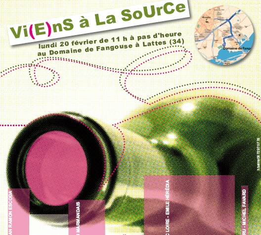 Viens la source un salon off montpellier pendant for Salon vin montpellier