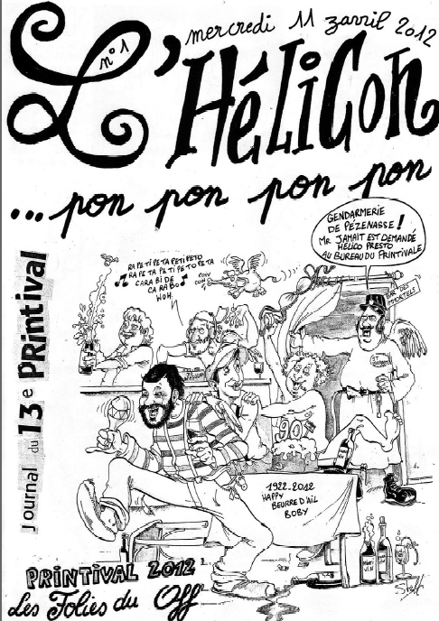journal helicon pzenas