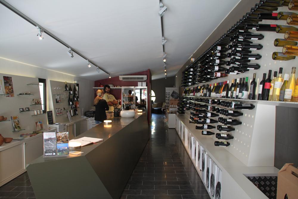 boutique vin cave cooperative riberach belesta