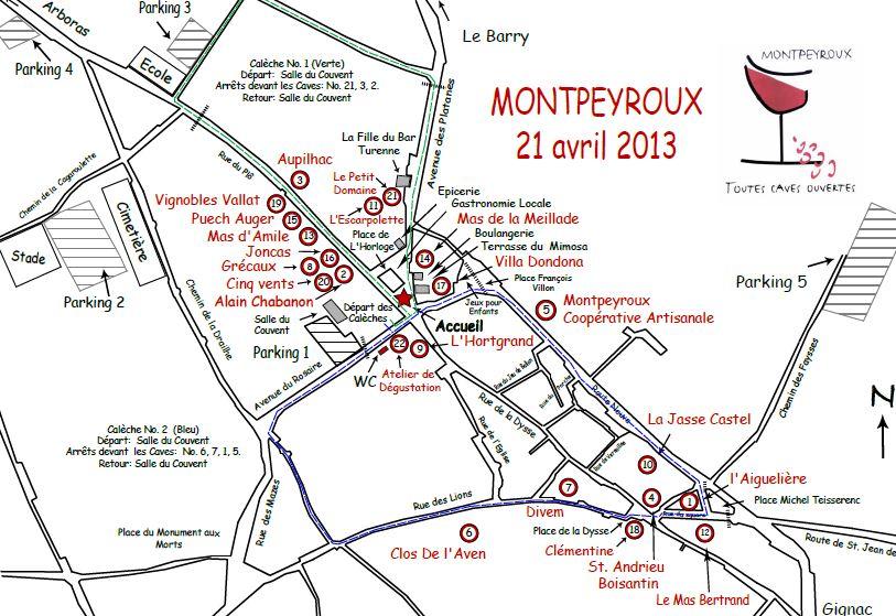plan caves ouvertes montpeyroux