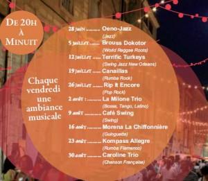 programme des estivales de pézenas 2013
