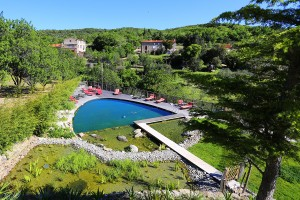 hotel de riberach belesta cave cooperative luxe piscine roussillon