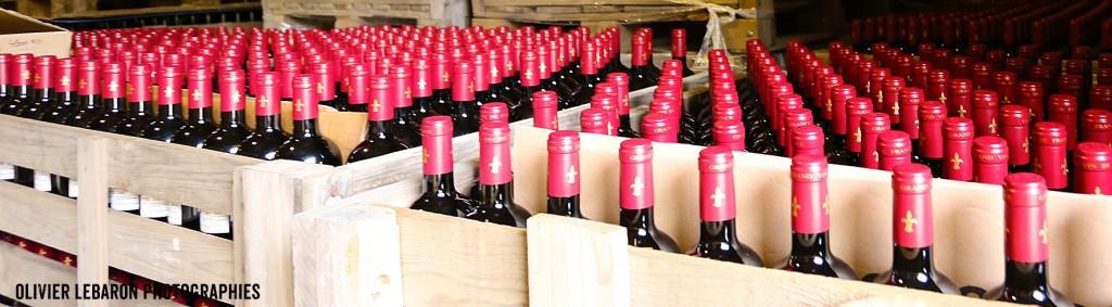bouteille chateau condamine bertrand pézenas languedoc domaine viticole
