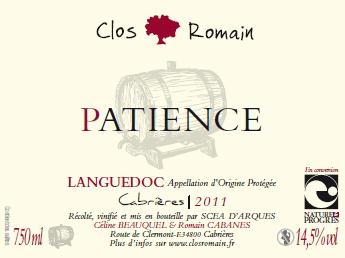 patience clos romain languedoc