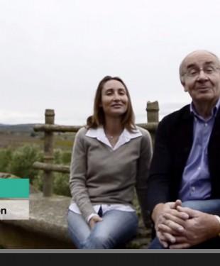 vidéo transmission père fille vigneron daurion pézenas
