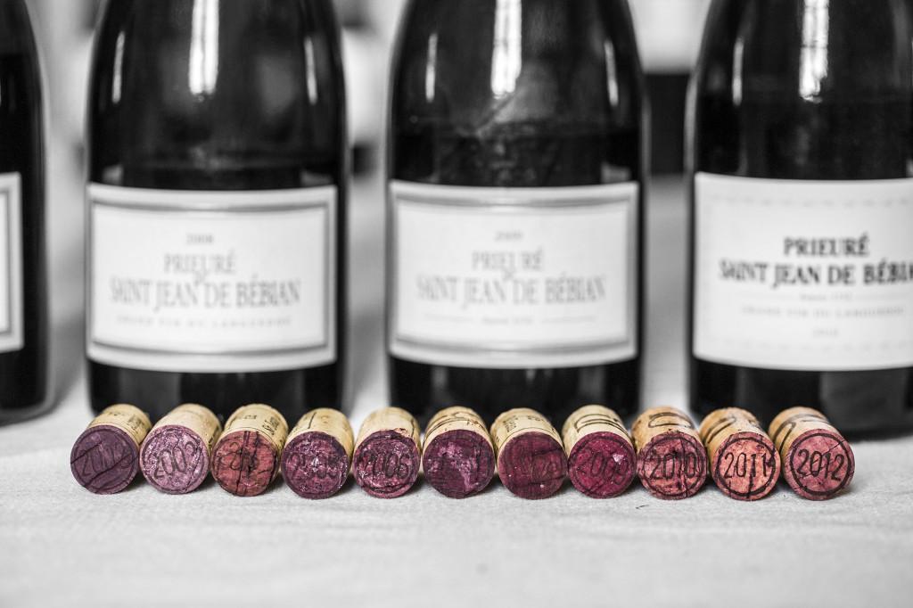 vin verticale de bébian dégustation languedoc