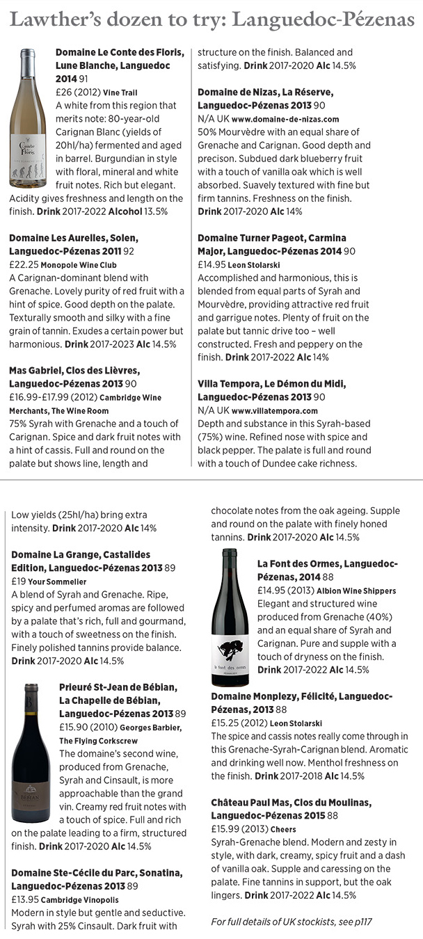 tasting notes pezenas wines on decanter