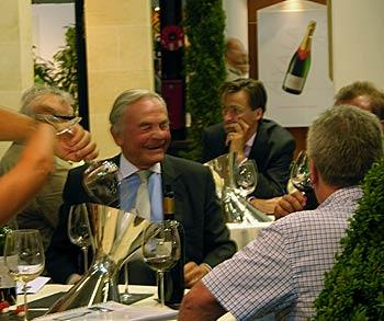 bernard magrez chateau pape clément vinexpo bordeaux 2009